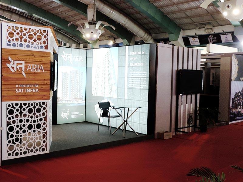 stall for m/s. sat infra